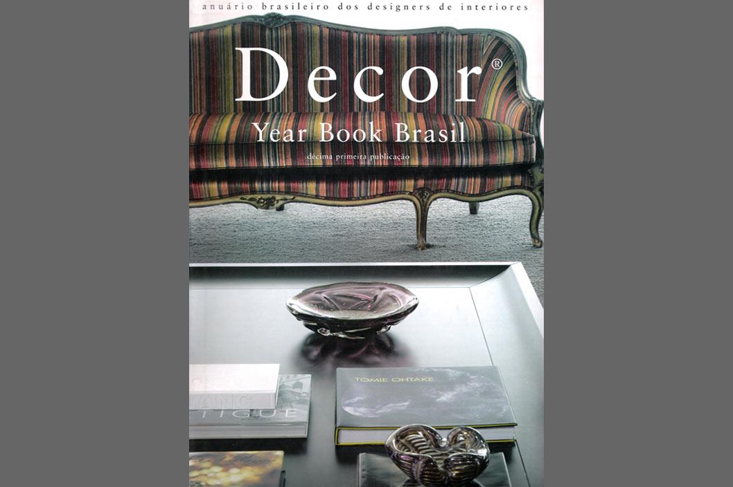 Livro Decor Year Book Brasil