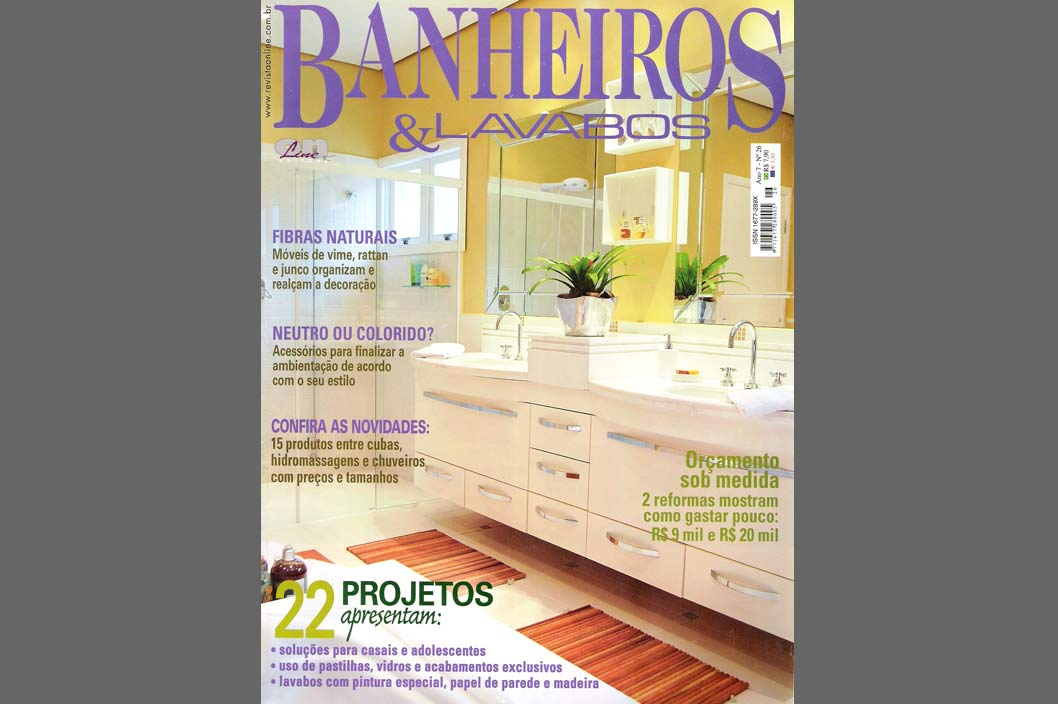 Banheiros & Lavabos – n.26 - 2007