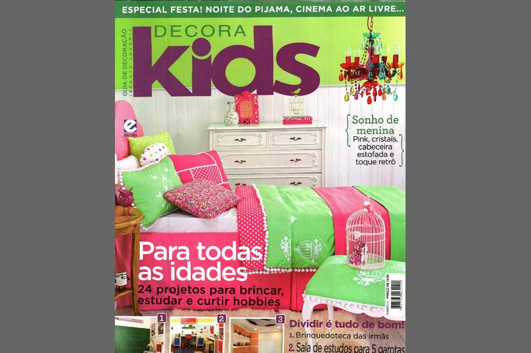 Projeto Prado Zogbi Tobar com destaque na revista Decora Kids