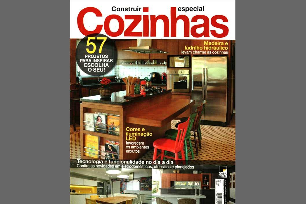 Projeto Prado Zogbi Tobar com destaque na revista Cozinhas - n.3