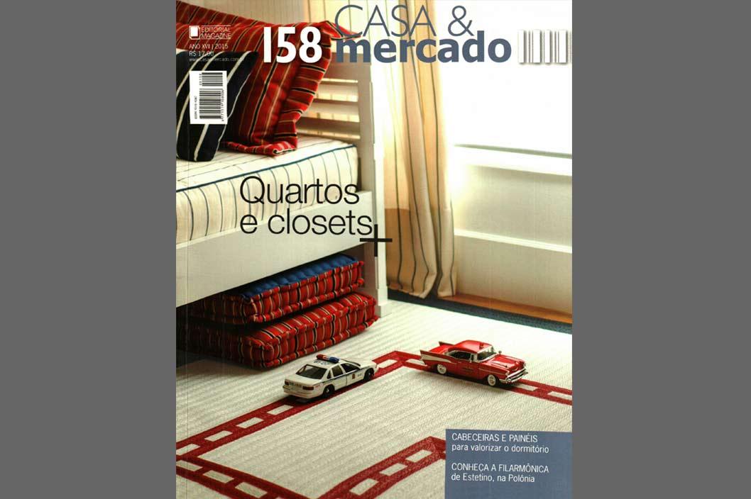 Projeto Prado Zogbi Tobar com destaque na revista Casa & Mercado - n.158
