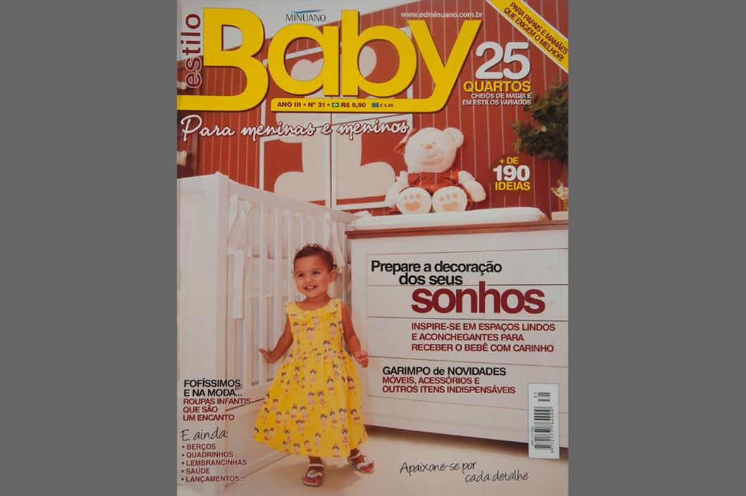 Projeto Prado Zogbi Tobar com destaque na revista Baby Minuano 31