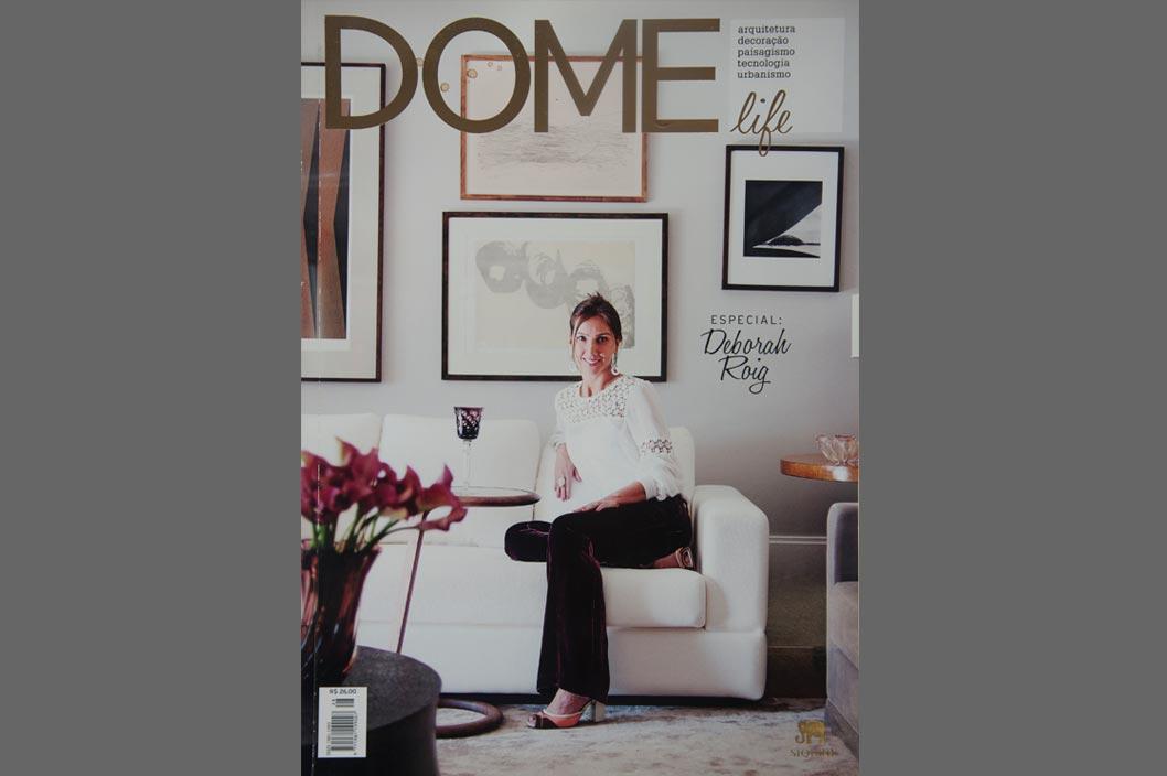 Projeto Prado Zogbi Tobar com destaque na revista Dome 28