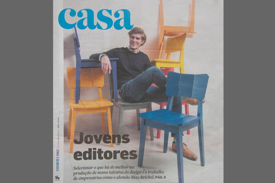 Projeto Prado Zogbi Tobar com destaque no Jornal Estado de SP ano 9